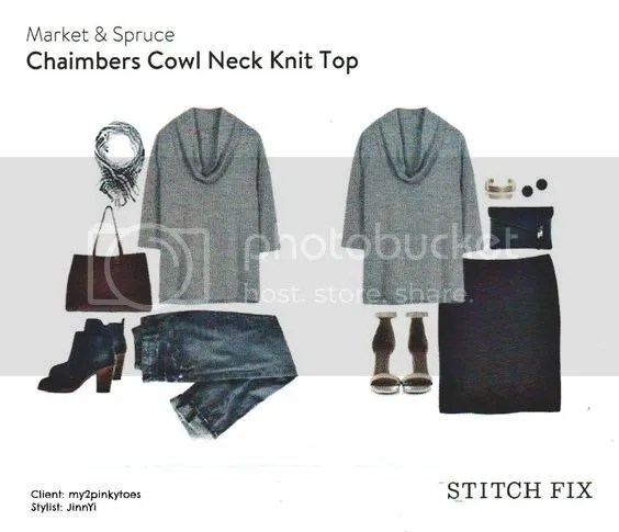 Chaimbers Cowl Neck Knit Top photo fc2cefb173d38f12c703dd2eacba6424.jpg