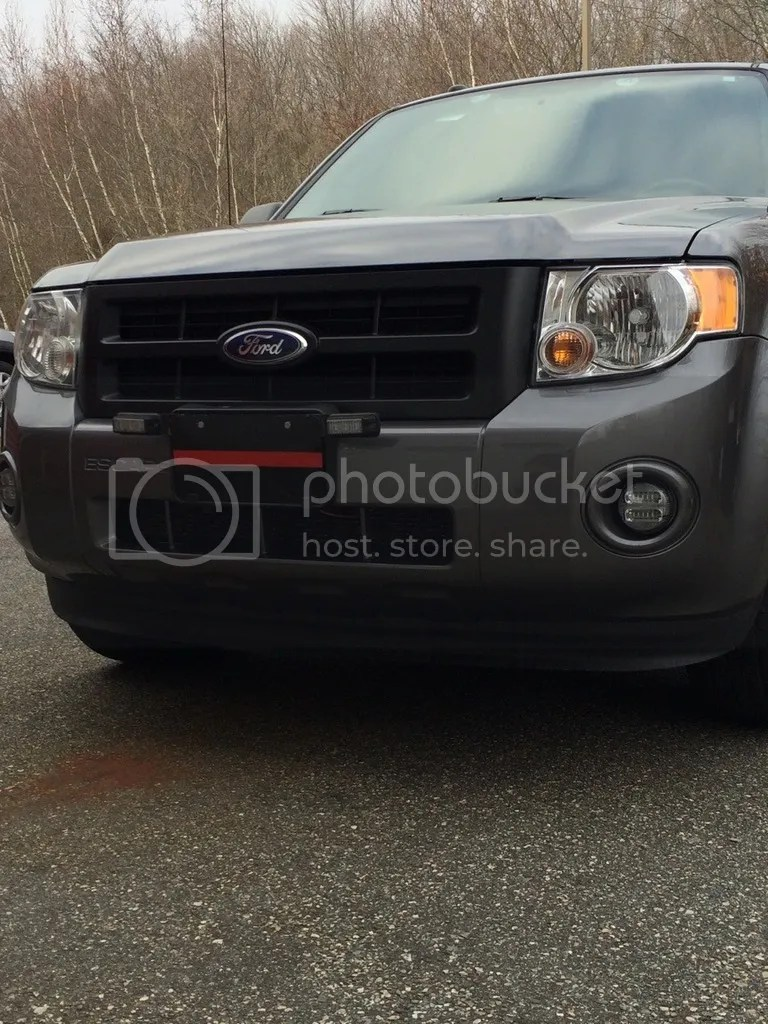 medium resolution of new whelen change over led fog lights strobes pics ford escape