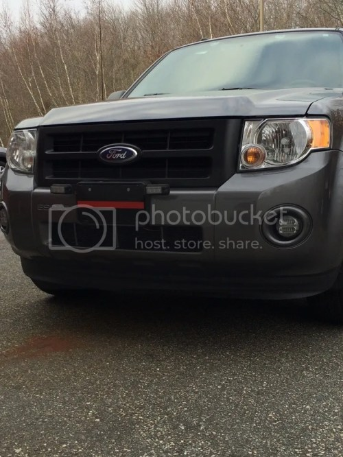 small resolution of new whelen change over led fog lights strobes pics ford escape