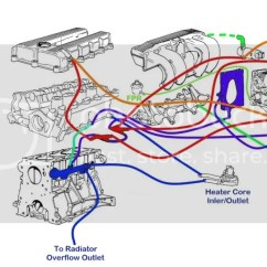 Bmw E36 Vacuum Hose Diagram 4 Way Switch Wiring Telecaster E34 Mess Under The Intake M50 Lines