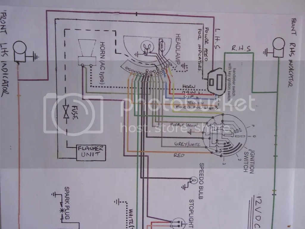 lambretta wiring diagram tool to create er lcgb forums  view topic indicators