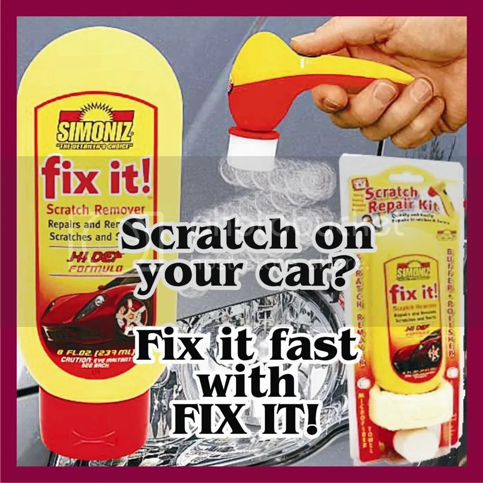 Paints  Finishing  LOCAL STOCK Scratch Repair Kit