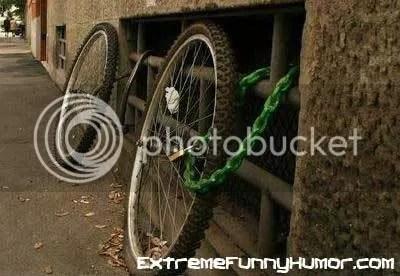 La bicicleta que me trajeron los reyes magos =(