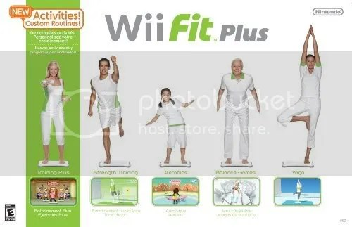 wii fit plus Pictures, Images and Photos