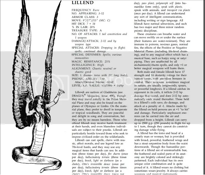 [Let's Read] AD&D 2e Monstrous Compendium Annual Vol. III