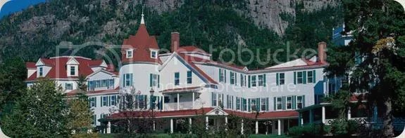 The Balsams Grand Resort Hotel in Dixville Notch, New Hampshire, USA.