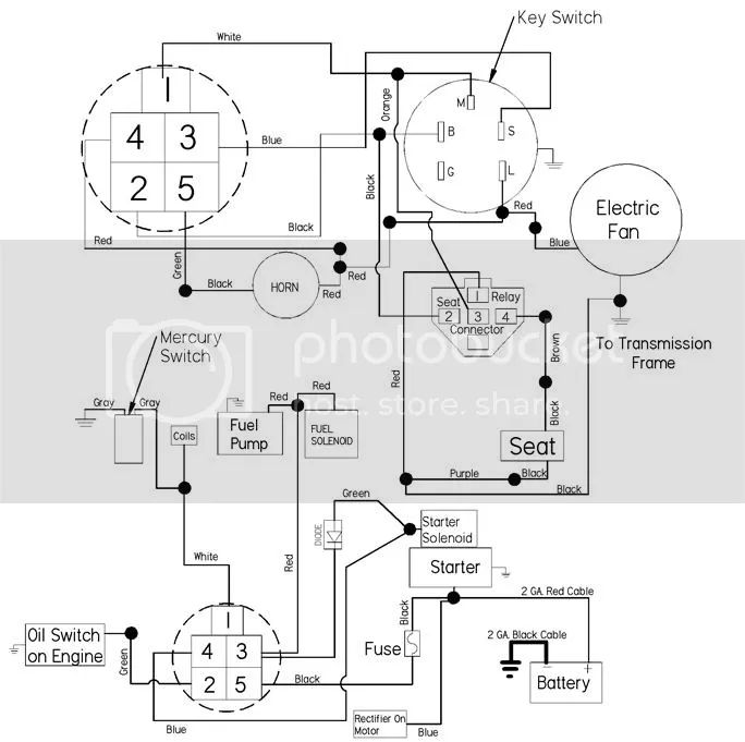 dixie chopper wiring schematic