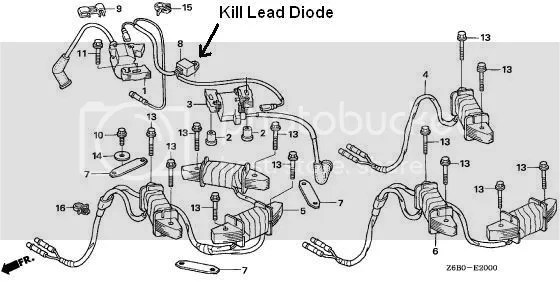 Honda Twin Cylinder Mower Wiring Diagram Hustler Super Z