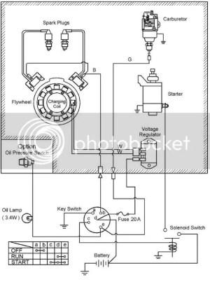 Kawasaki FH580V wiring hook ups  DoItYourself
