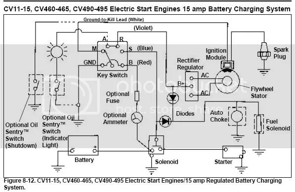 Lawn Mower 5 G Ignition Switch, Lawn Mower Ignition Switch Wiring Diagram