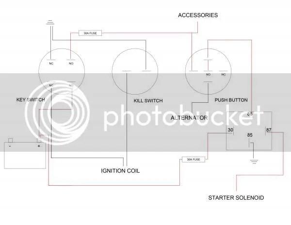 4 post ignition switch wiring diagram 2002 honda civic coupe radio kohler starter solenoid diagrams courage pro sv840 27 hp custom doityourself rhdoityourself