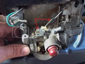Craftsman Tecumseh throttle linkage reassembly  HobbyTalk