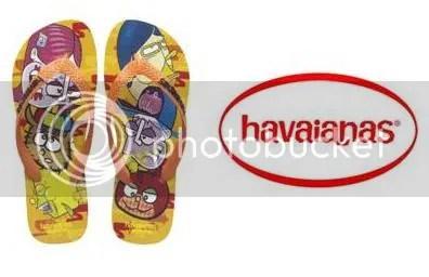 brazillian graffitt havaianas
