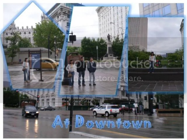 Downtown Salt Lake City Utah