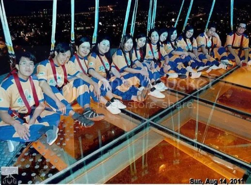 sky walk at regency hotel