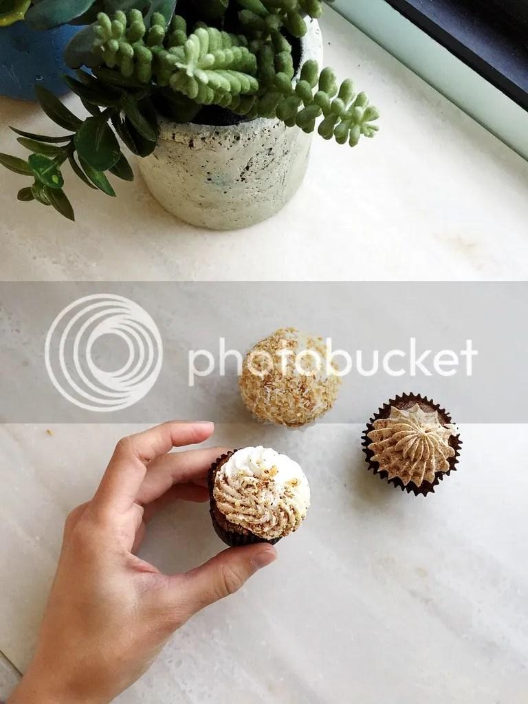 Vegan cupcakes from New Moon Café