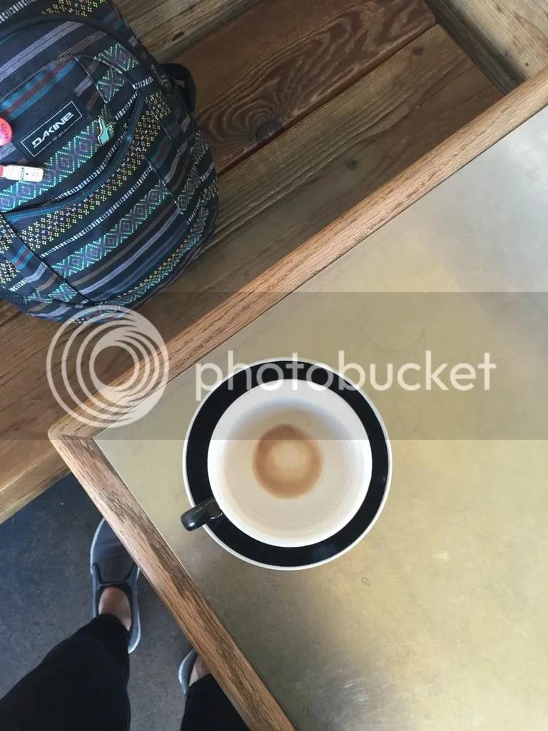 Vegan chai at Crema in Denver