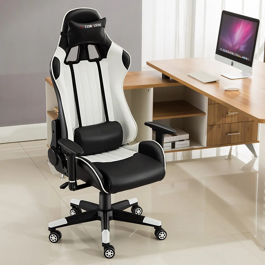 best office chair for neck pain uk diy dining room covers executive recliner racing adjustable gaming