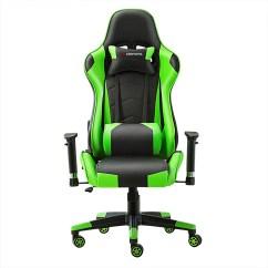 Red Office Chair No Wheels Design Principles Jl Comfurni Gaming Racing Executive Recliner