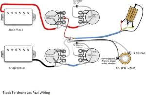 epiphone les paul standard wiring question | My Les Paul Forum