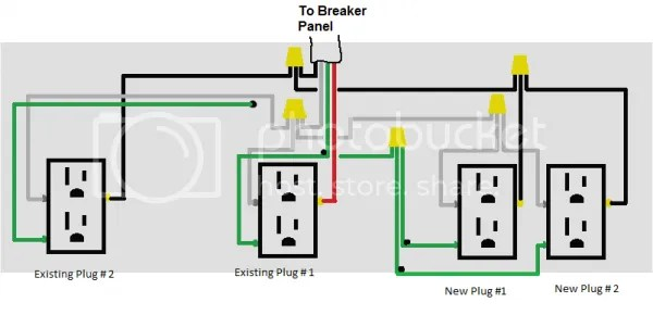 gfci receptacle wiring diagram brain medulla wire a new outlet in the garage - doityourself.com community forums