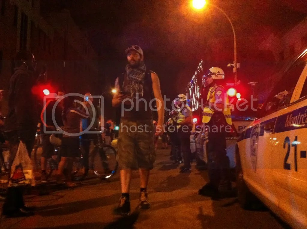 Montréal 26 mai 2012 – Manifestation Saturday Night Casserole