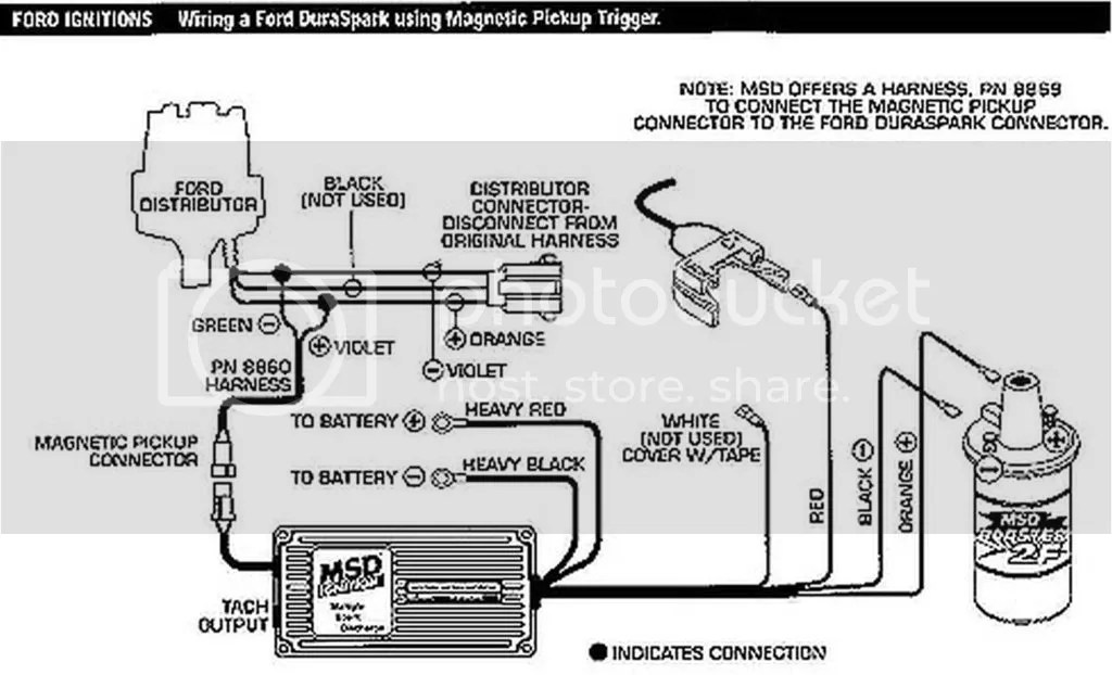 duraspark wiring diagram ford ez go txt battery 3 volts at coil+.....resistor wire failure???? - truck enthusiasts forums