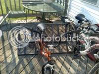Homemade bike rack for back of truck | PopUpPortal