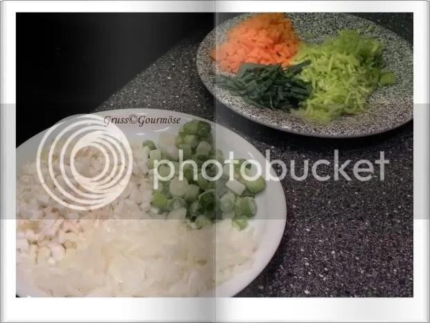 Bolognese-3Std-Gemüse-auf-Teller-Gruss-Gourmöse