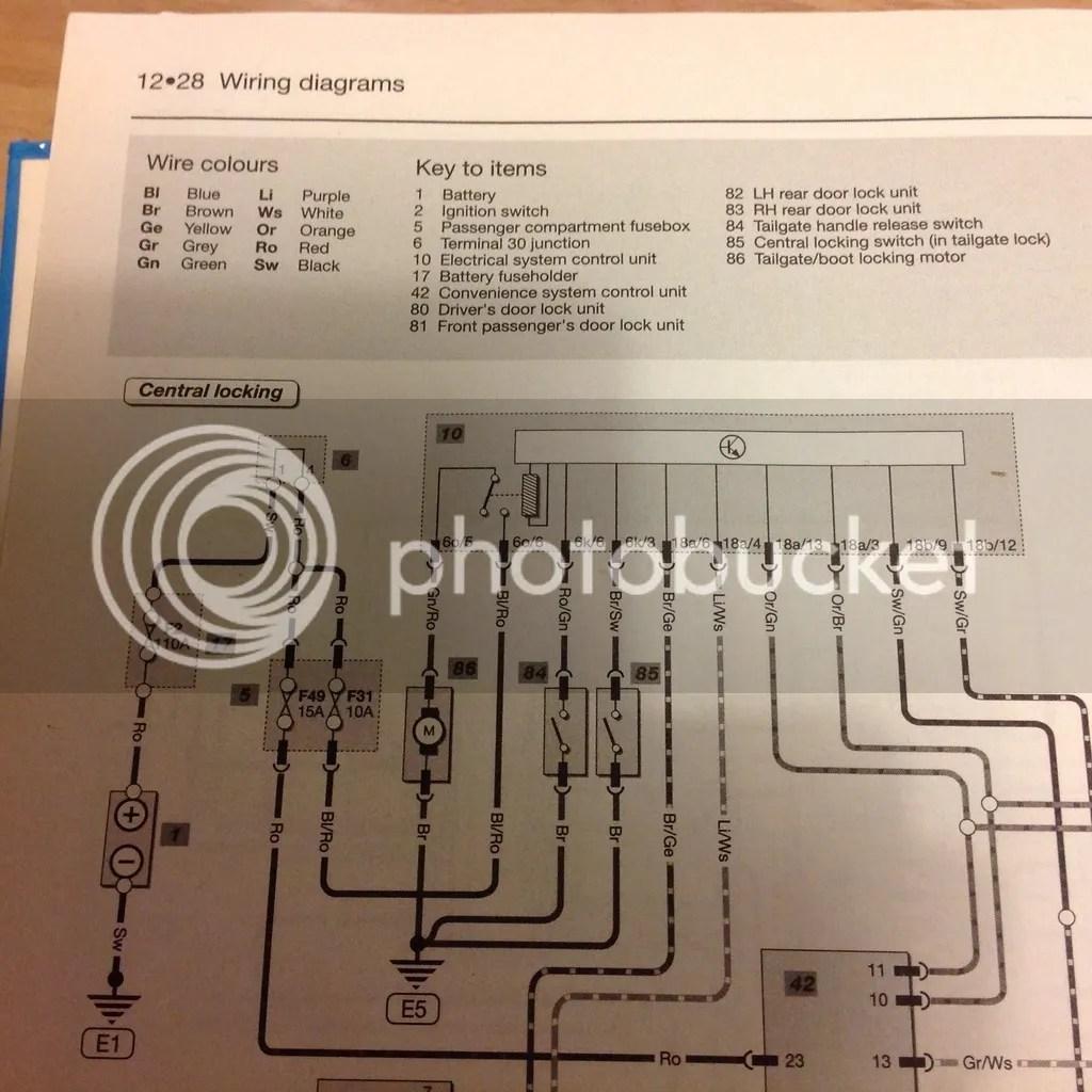 hight resolution of skoda fabia central locking wiring diagram basic guide wiring rh needpixies com skoda octavia 2008 skoda