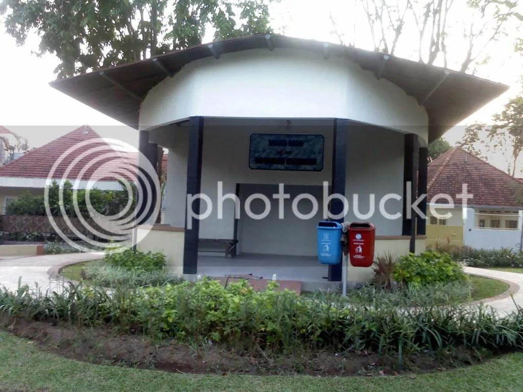 Taman Paliatif, ruang baca dan informasi kesehatan