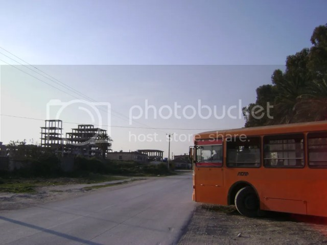 The bus to Pylli i Sodes