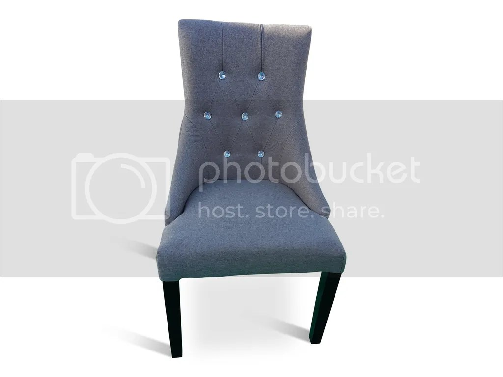 grey bedroom chair uk baby trend high occasional boudoir fabric button tufted