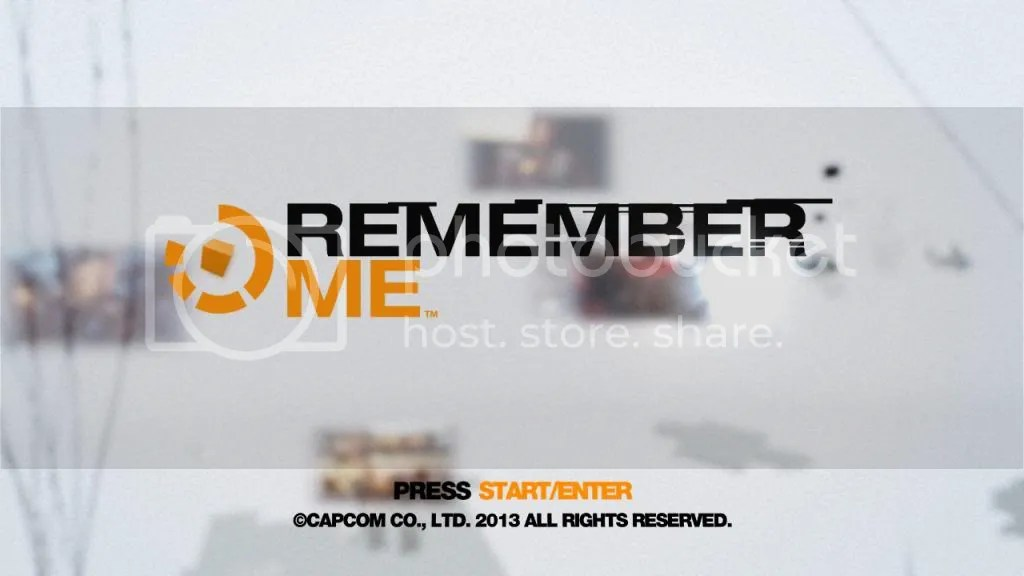 Remember Me Title Splash