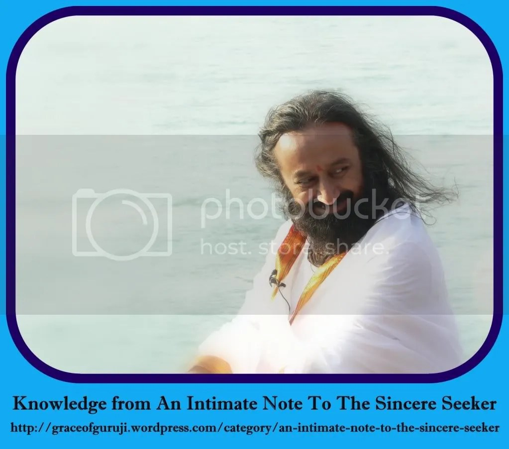 Intimate Note to the Sincere Seeker