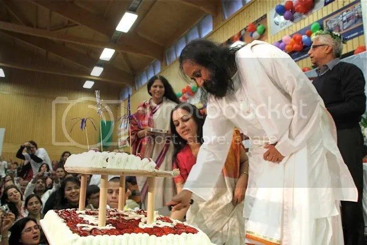 Sri Sri's Birthday