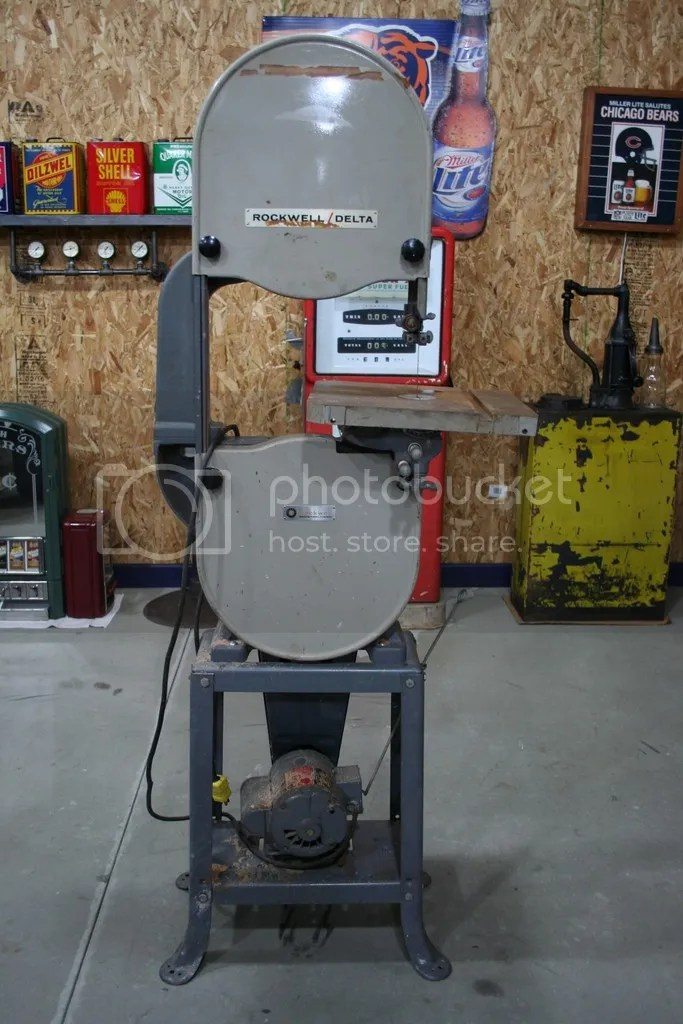 Rockwell 14 Bandsaw Model 28 200