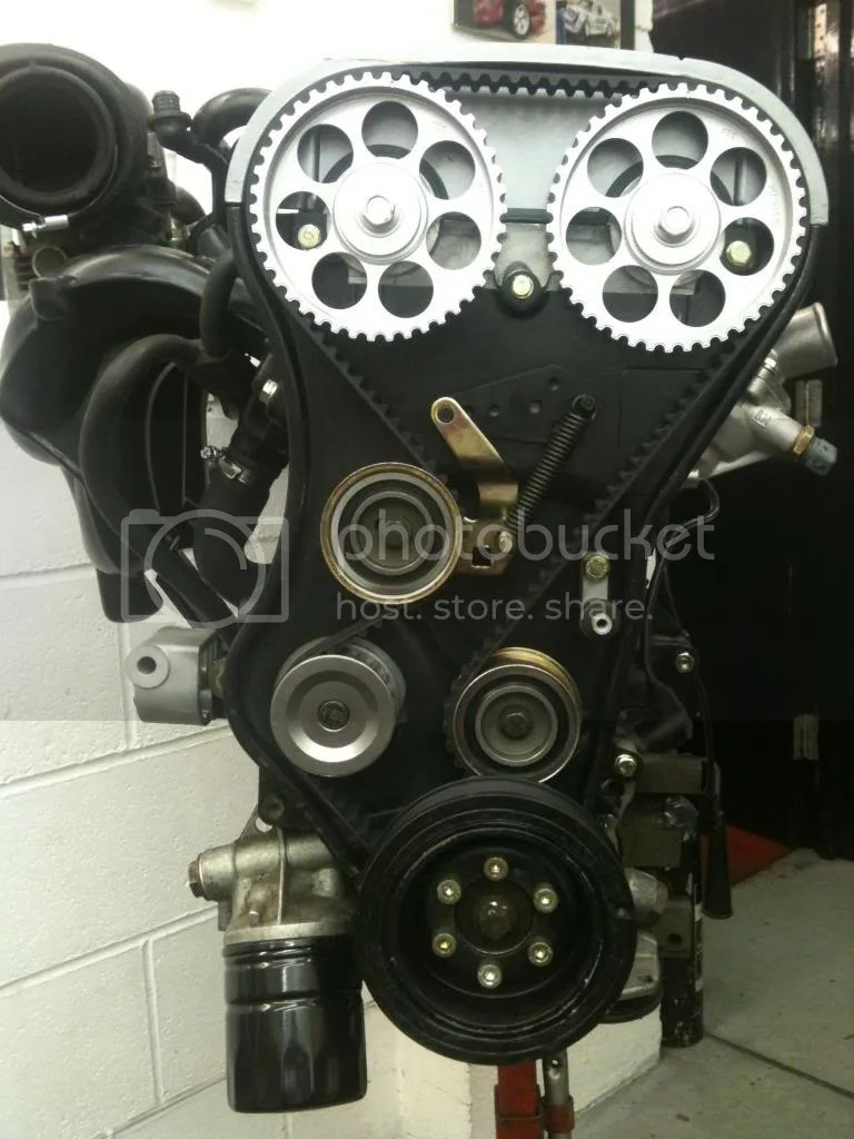 hight resolution of 20xe setting the belt tension corsa sport for vauxhall and opel corsa b corsa c and corsa d