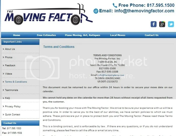 moving services in ct