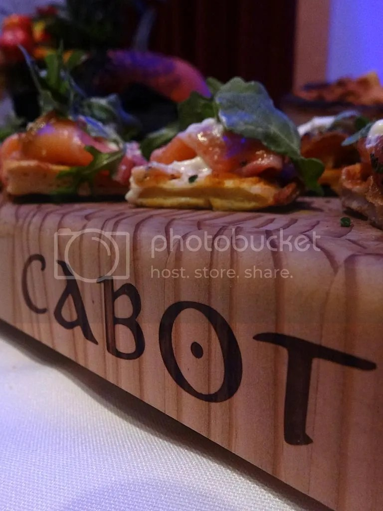 Cold Smoked Salmon from Cabot Links at Celtic Oktoberfest