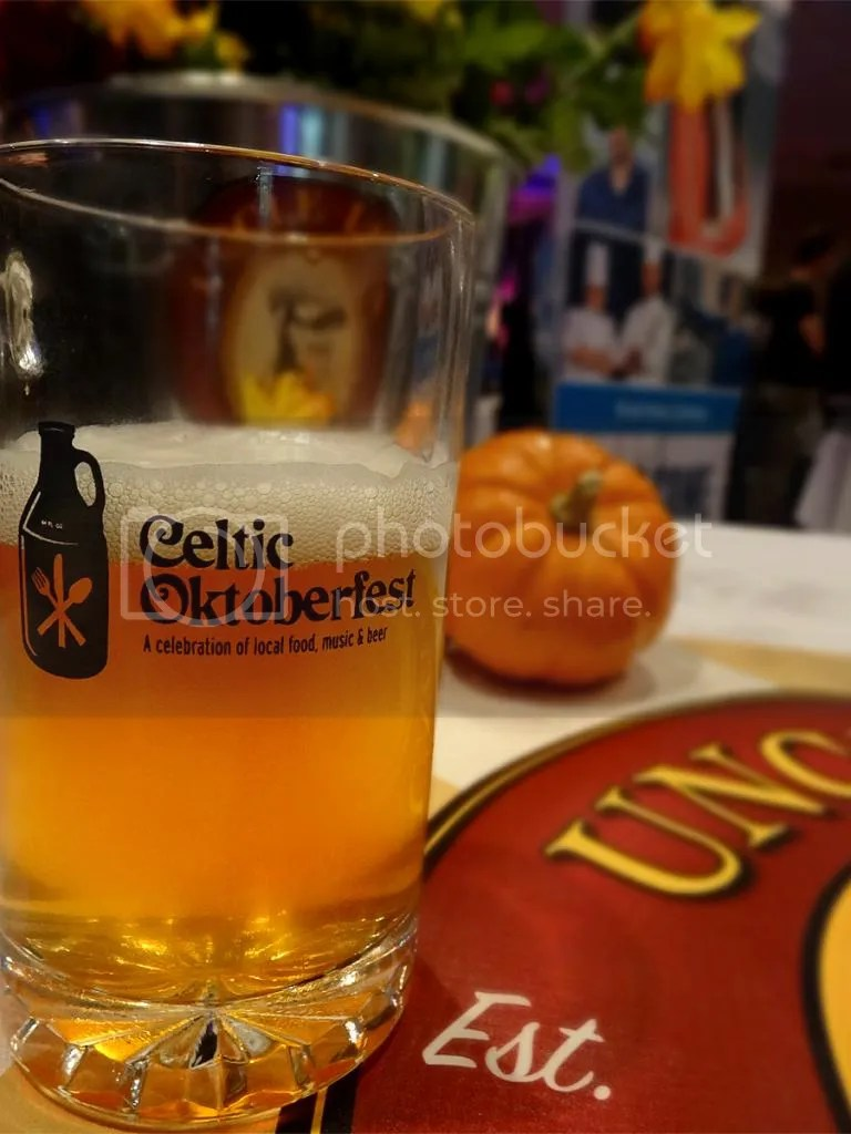 Vohs Weizenbier from Uncle Leo's at Celtic Oktoberfest