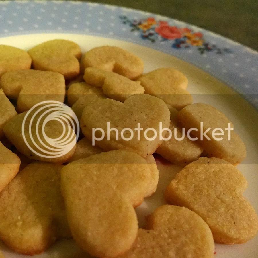 bonus heart cookies!