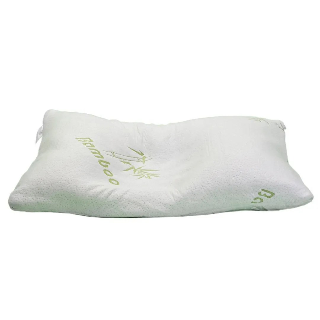 New Bamboo Pillow Memory Foam King Size with Travel Bag