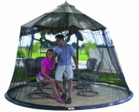 9 Foot Umbrella Table Screen Enclosure Keep Bugs