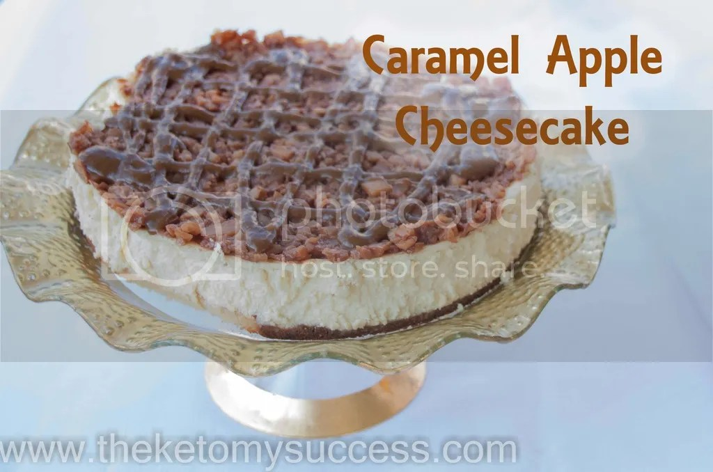 "Caramel ""Apple"" Cheesecake"