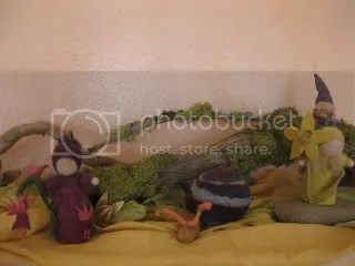 Another one of Devanas beautiful nature tables