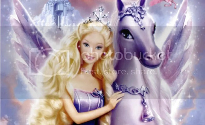 Barbie Pegasus Cartoons Magic