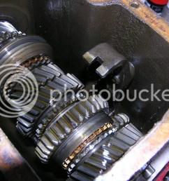 re mg midget 1500 gear box oil changing [ 1024 x 768 Pixel ]