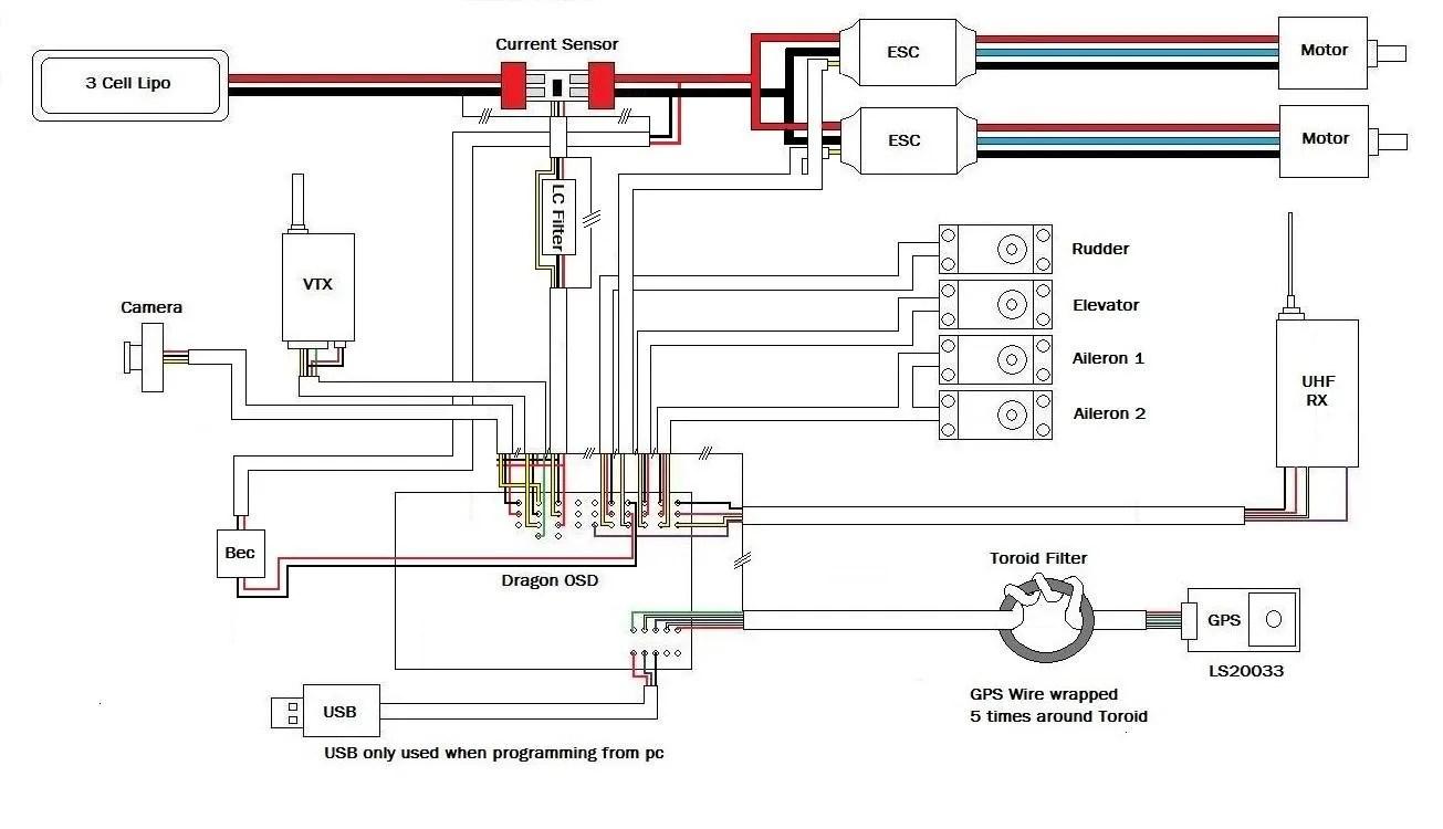 fpv transmitter wiring diagram siemens sinamics g120 camera wire data diagrams blow up