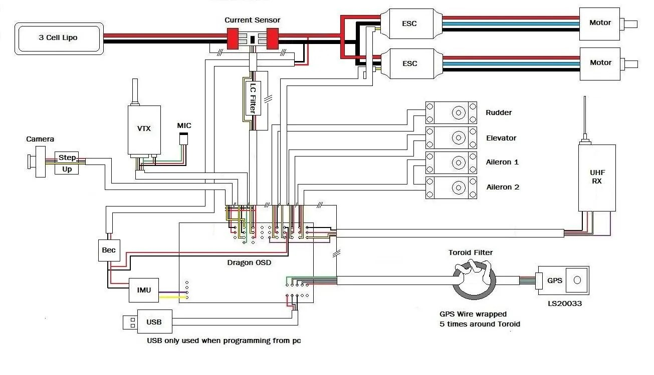hight resolution of naza m v2 wiring diagram